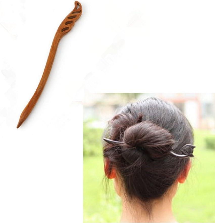 lunji alfiler de cabello Vintage madera accesorio joyas cabello