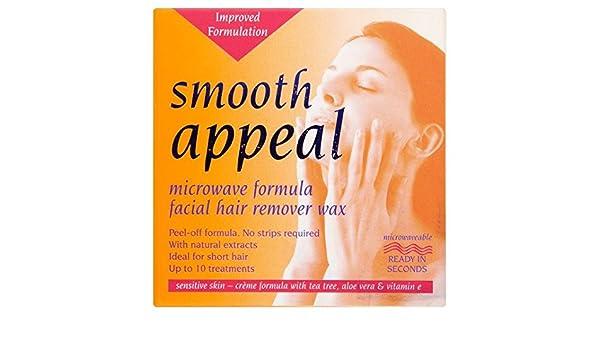 Recurso suave Microondas Fórmula facial 40g Cera depiladora ...