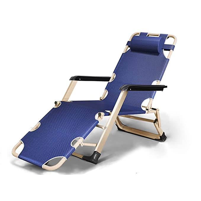 Amazon.com: Silla reclinable plegable para jardín, playa ...