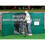 """Bike Locker - Secure Bicycle Storage Unit (6ft 3"""" x 2ft 11"""") Flat Packed - Cycle Shed from Asgard"""