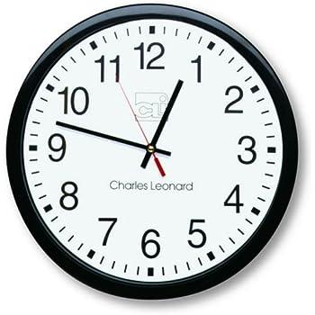 Amazon Com Bai School Wall Clock Black Home Amp Kitchen