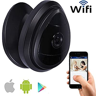 iSmart Mini IPC WiFi 720p Home Security Camera with 1-way Audio & motion detection