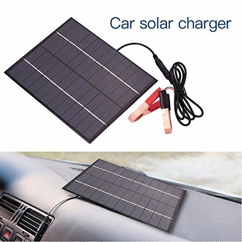 Solar Powered Motorcycle Battery Charger - 6