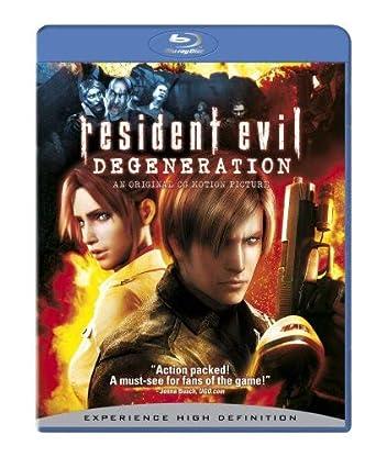 Resident Evil: Degeneration Edizione: Stati Uniti USA Blu-ray ...