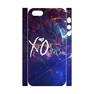 C-EUR Cell phone Protection Cover 3D Case The Weeknd XO For Iphone 5,5S