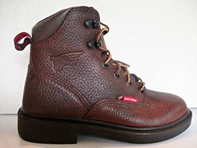 Amazon.com: Boys Red Wing Work Boots: Shoes