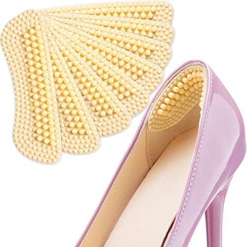 Heel Pads SMATIS 4 Pairs Heel Cushions Inserts for Womens New Shoes High Heels Preventing Heel Rubbing and Blisters and Slip Out.