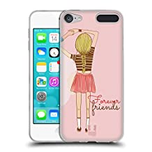Head Case Designs Infinity Stripes My BFF Cases Soft Gel Case for Apple iPod Touch 6G 6th Gen