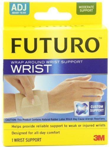 Futuro Wrap Around - Futuro Wrap Around Wrist Support, Beige, Adjustable (Pack of 2) Personal Healthcare / Health Care