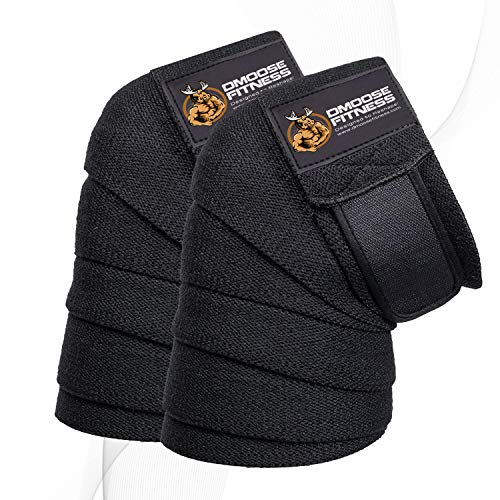 DMoose Fitness Knee Wraps Powerlifting product image