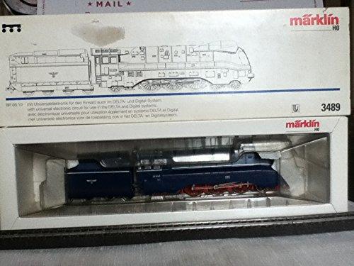 Marklin HO Heavy Digital STEAM 4-6-2 Locomotive BR 03.10 Model 3489 (Special Design Light Blue)