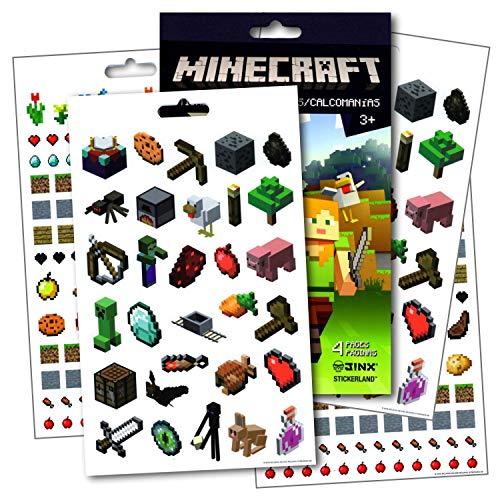 Minecraft Stickers ~ Over 295 Fun