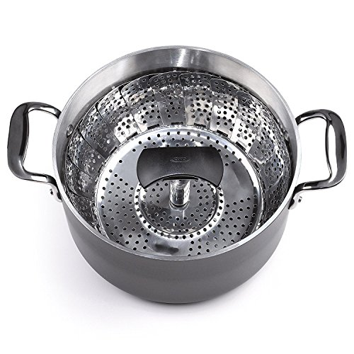 OXO Good Grips Stainless Steel Steamer with Extendable Handle by OXO (Image #7)
