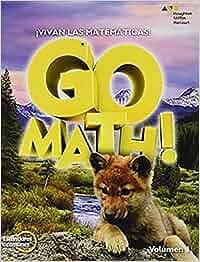 Go Math!, Edicion de Estandares Comunes: !Vivan Las