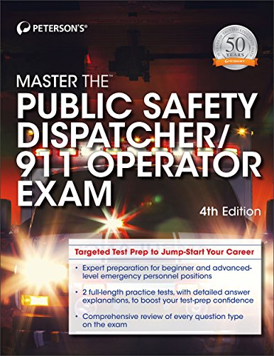 Pdf Test Preparation Master the Public Safety Dispatcher/911 Operator Exam