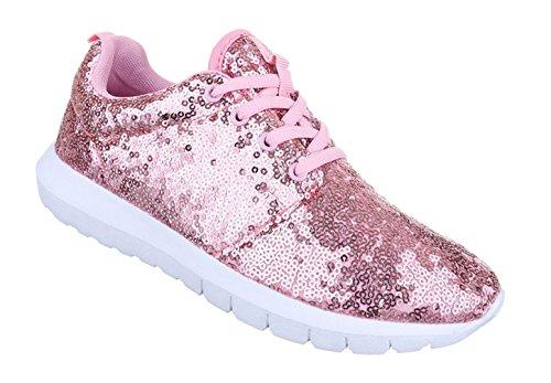 Damen Freizeitschuhe Schuhe Runner Sneakers Sportschuhe Schwarz Blau Rosa 36 37 38 39 40 41