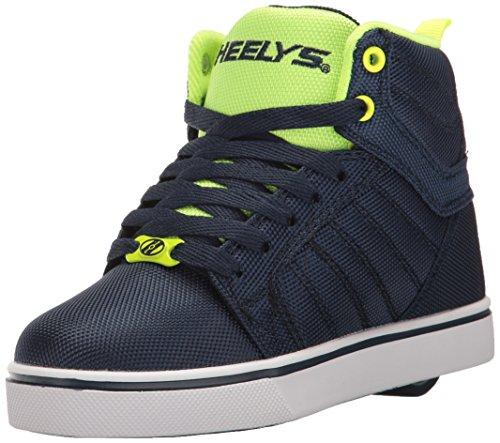 Uptown Kids Navy Running Ballistic Shoes Yellow Heelys nfSxgwWqCq