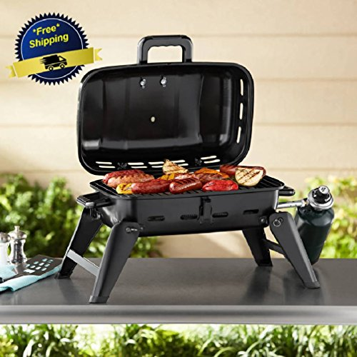Portable Gas Grill BBQ Camping Propane Barbecue Burner Backyard Outdoor  Cooking By Olivia Co.