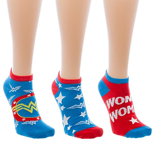 Halloween Of Costumes 10 Group (Wonder Woman Ankle Socks Juniors 3)