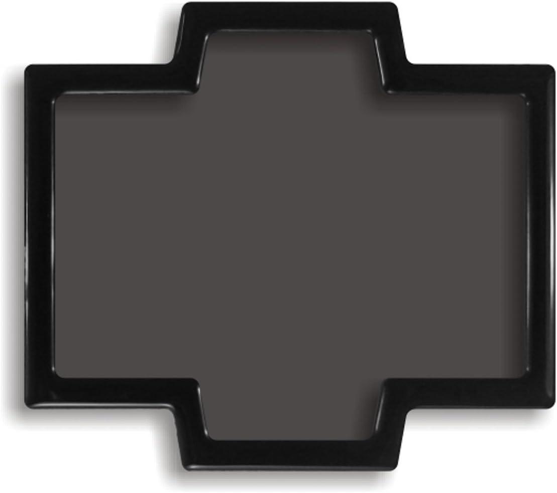مرشح غبار DEMCiflex للتصميم الكسور R5 ، كبير خلفي ، إطار أسود / شبكة سوداء