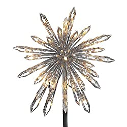 Light Crystal Snowflake Treetop