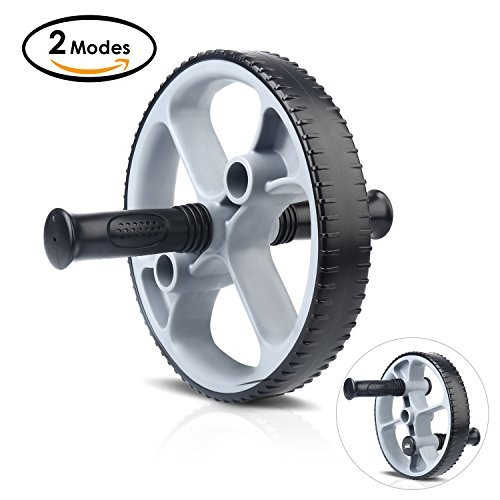 Ab Roller Wheel, HiHiLL Roller Abdominal Trainer Exercise and Fitness Wheel for Core Training