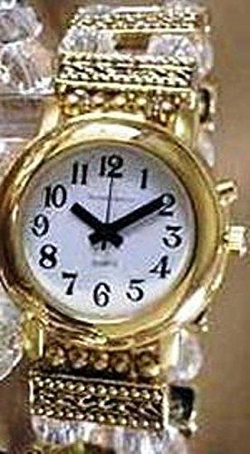 Amazon.com: Elegante Reloj altavoz con alarma Oro Tono y ...