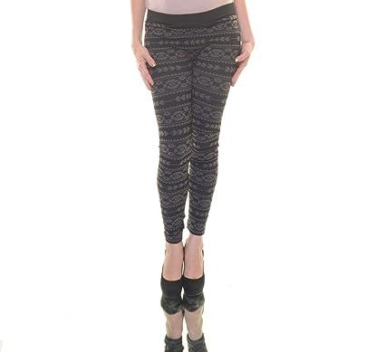 1abca9a1dc2aa7 Ultraflirt Womens Athletic Fit Pattern Leggings Black L/XL at Amazon ...