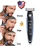Braun Shaver Usb - SMART 2018 MicroTouch Micro Touch SOLO Rechargeable Trims Edges Razor Shaver