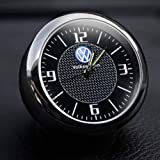 Incognito-7 3D Laxury Metal Volkswagen VW Clock Volkswagen VW Analog Clock Watch for All Volkswagen VW Cars