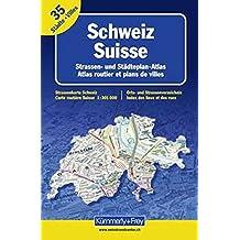 Switzerland Road Atlas
