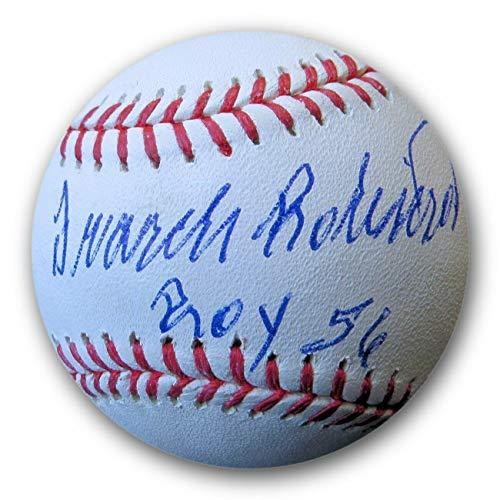 (Frank Robinson Autographed Signed MLB Baseball Roy 56 Orioles JSA Wp041796 - Authentic Memorabilia)