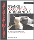 Streetwise Finance and Accounting for Entrepreneurs, Suzanne Caplan, 159337609X