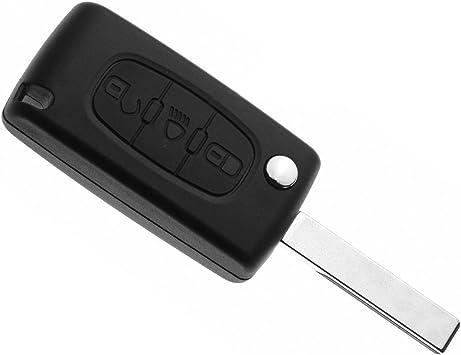 Obest Niu Flip Key Case Schlüssel Gehäuse Mit 3 Knöpfen Elektronik