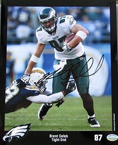 Autographed Brent Celek Photo - 8x10 SI - Autographed NFL Photos