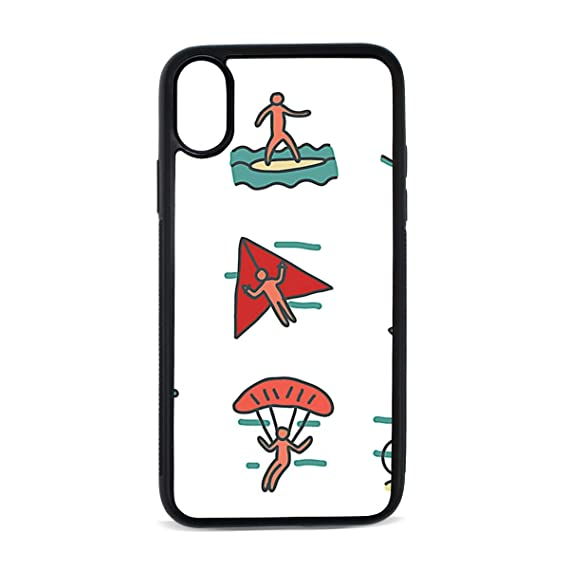 detailed look 28a0b cb542 Amazon.com: iPhone X Case,Extreme Sports TPU Anti Scratch Protective ...