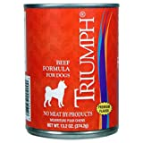 Triumph Beef Canned Dog Food, Case Of 12, 13.2 Oz. For Sale