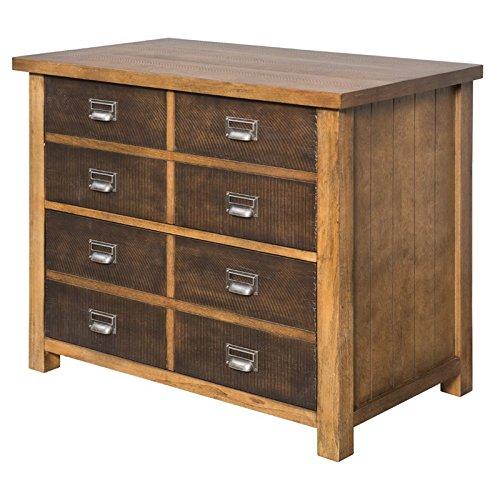 Hickory File Cabinet Finish - 3