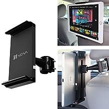 "Car Headrest Mount Holder, Vena HEADTAB [One Hand] Back Seat Car Mount for Apple iPad Air Mini / Apple iPad 9.7-inch (2018), Chromo Android, Dragon Touch, Samsung Galaxy Tab A E, LeapFrog Epic/LeapPad, Nabi JR (5""-11"" Tablets)"