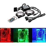 PC Computer RGB LED - LED Light Flexible Lamp Strip Kit DC 12V for PC Computer Case