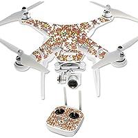 MightySkins Protective Vinyl Skin Decal for DJI Phantom 3 Professional Quadcopter Drone wrap cover sticker skins Leaf Jungle