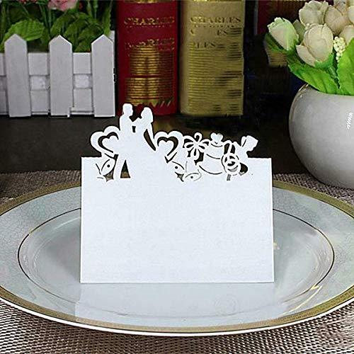 (BROSCO 50Pcs Wedding Party Invitation Cards Marriage Bridal Shower invites Choose Type   Pattern - Love)
