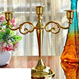 European Candle Ornaments Retro Romantic Candle Light Dinner Candle Holders Candle Cups-F