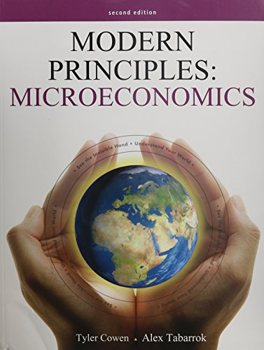 Modern Principles of Microeconomics Second Edition, Portal Access Card (6 Month), & College Cartoon for Introduction to Economics (Volume 1)