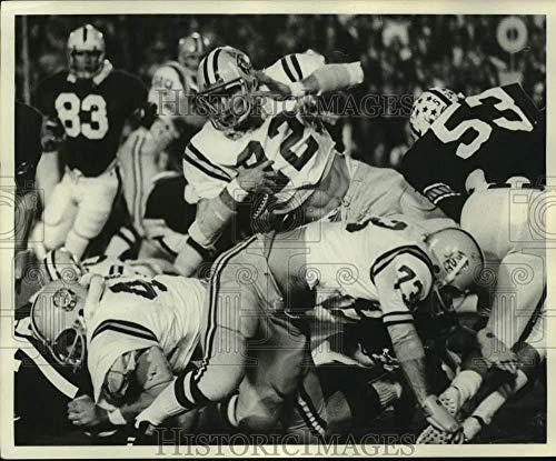Press Photo LSU football player Steve Rogers in action - nos31632