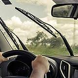 VORCOOL Car Frameless Windshield Wiper Blade