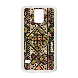 Classic Flowerr Fabric Totem Pattern Hot Seller High Quality Case Cove For Samsung Galaxy S5