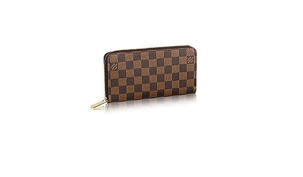Auténtico Louis Vuitton Damier Zippy Wallet artículo: n60015: Amazon.es: Ropa y accesorios