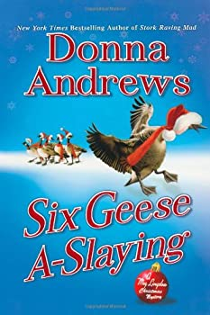 Six Geese A-Slaying 0312536100 Book Cover