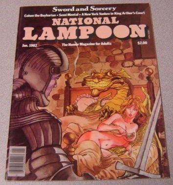 (National Lampoon Magazine January)